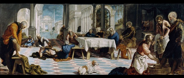Christ Washing the Disciples' Feet (Tintoretto)
