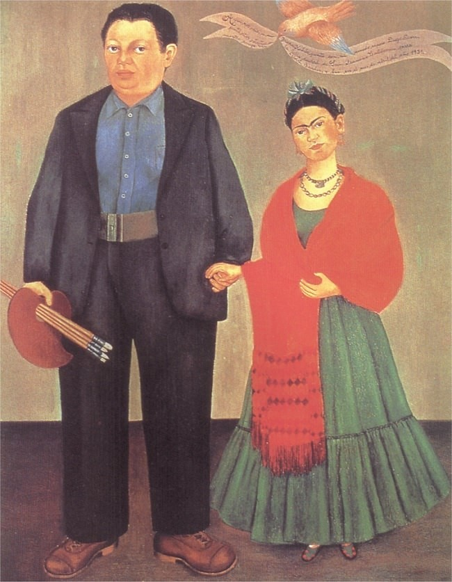 Frieda and Diego Rivera
