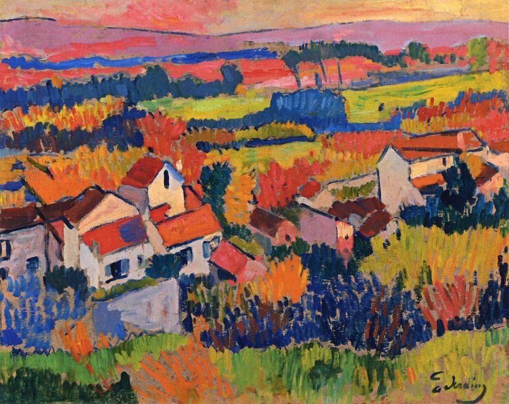 Landscape near Chatou