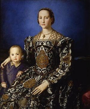 Portrait of Eleanor of Toledo