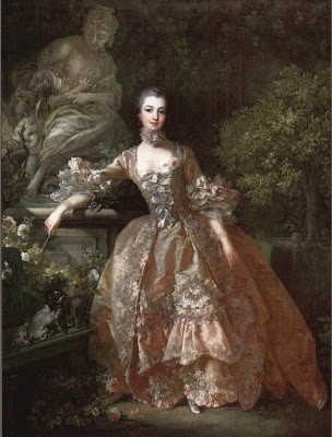 Portrait of Madame de Pompadour