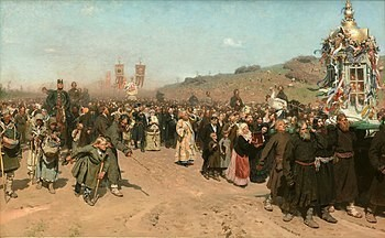 Religious Procession in Kursk Province
