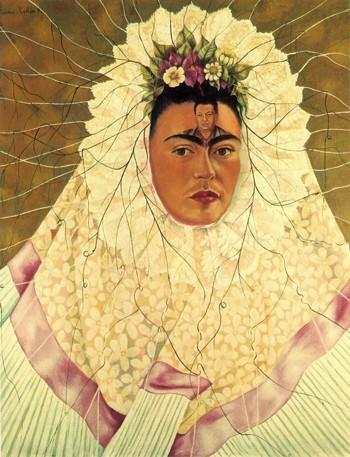 Self-Portrait as a Tehuana