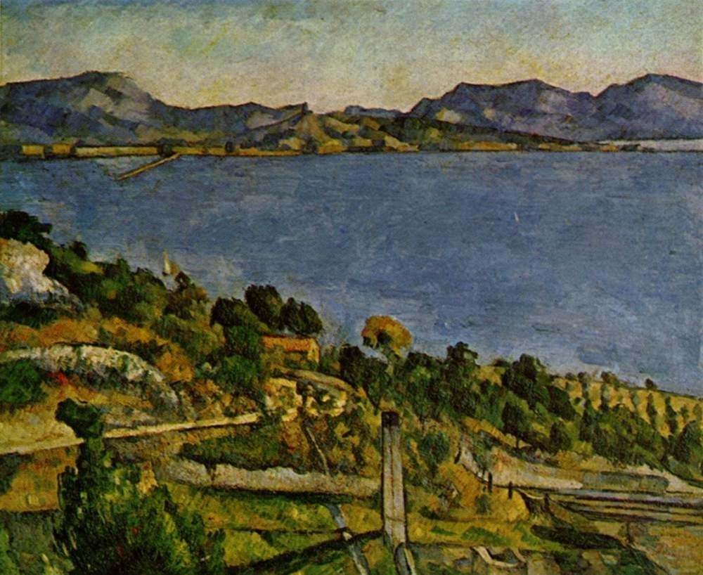 The Bay of Marseille seen from L'Estaque