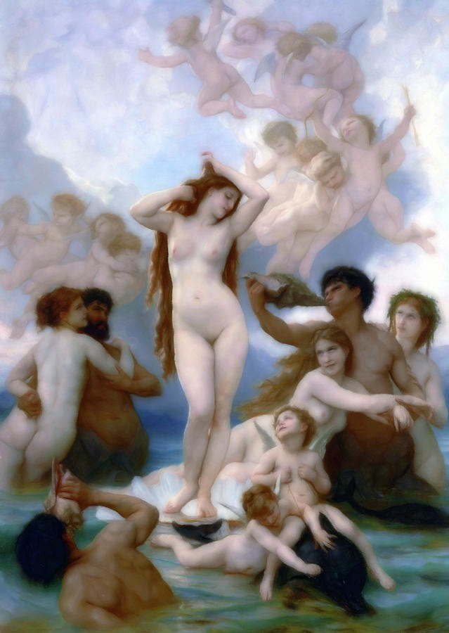 The Birth of Venus (Bouguereau)