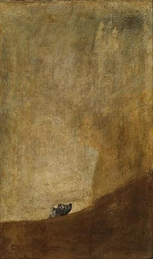 The Dog (Goya)
