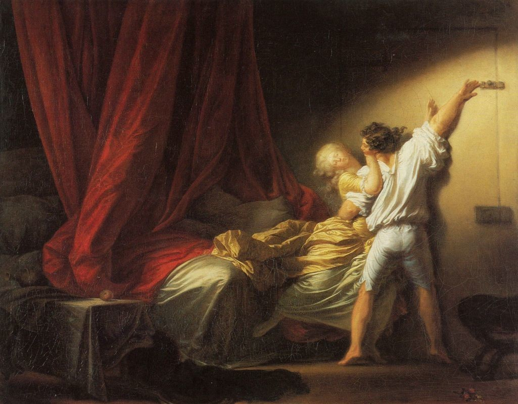 The Lock (Fragonard)