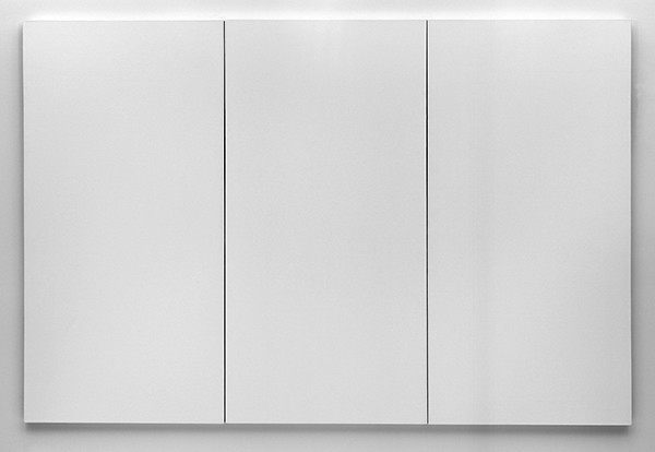 White Painting (Three Panel)