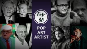 Top 40 Pop art artist | Artwork / paintings, Biographies-Easy explanation