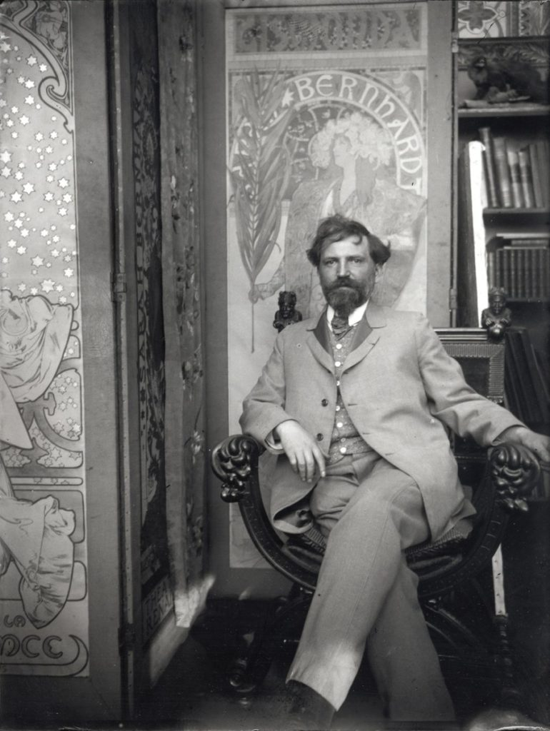 Alphonse Mucha- Life, paintings, contribution, death- Easy explanation | artandcrafter.com Art nouveau