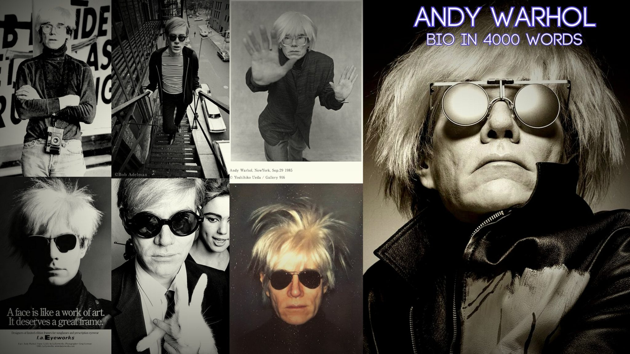 Andy Warhol- Life, paintings, contribution, death- Easy explanation