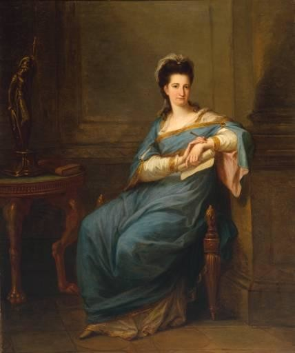 Angelica Kauffman- Short notes | Know everything in seconds-artandcrafter.com Neoclassicism