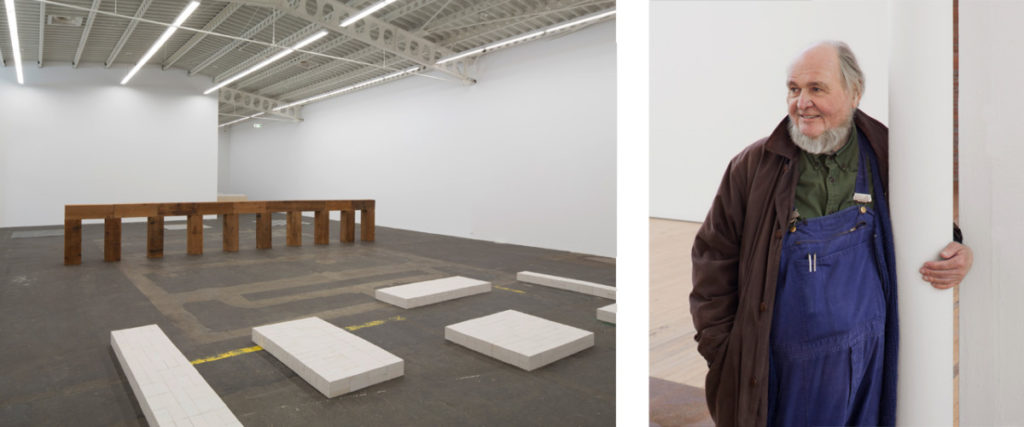 Carl Andre- Life, paintings, contribution, death- Easy explanation | artandcrafter.com Minimalism