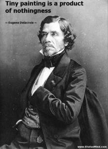 Eugène Delacroix- Life, paintings, contribution, death- Easy explanation   artandcrafter.com Romanticism