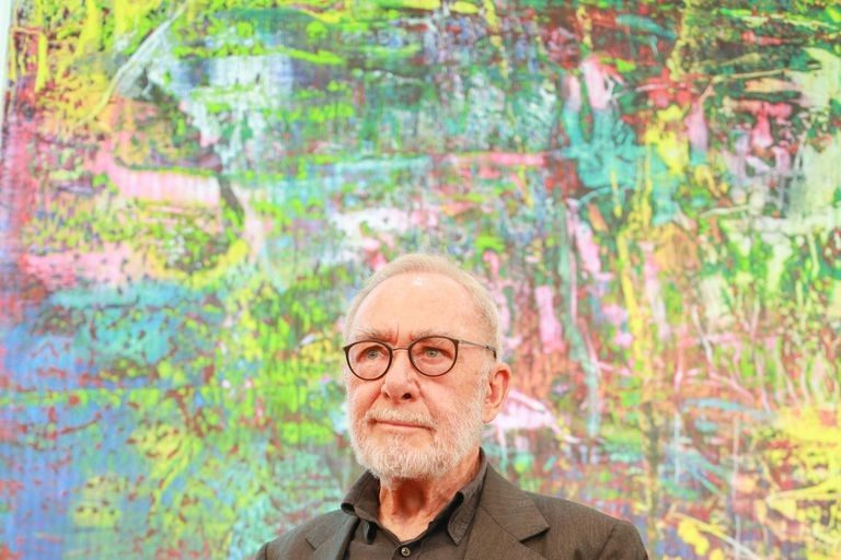 Gerhard Richter- Life, paintings, contribution, death- Easy explanation | artandcrafter.com Abstract art