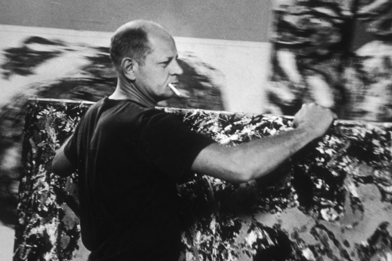 Jackson Pollock- Short notes | Know everything in seconds-artandcrafter.com Abstract art
