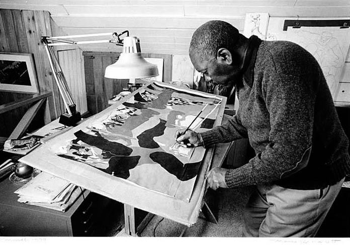 Jacob Lawrence- Short notes | Know everything in seconds-artandcrafter.com Harlem renaissance