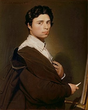 Jean Auguste Dominique Ingres- Life, paintings, contribution, death- Easy explanation | artandcrafter.com Neoclassicism