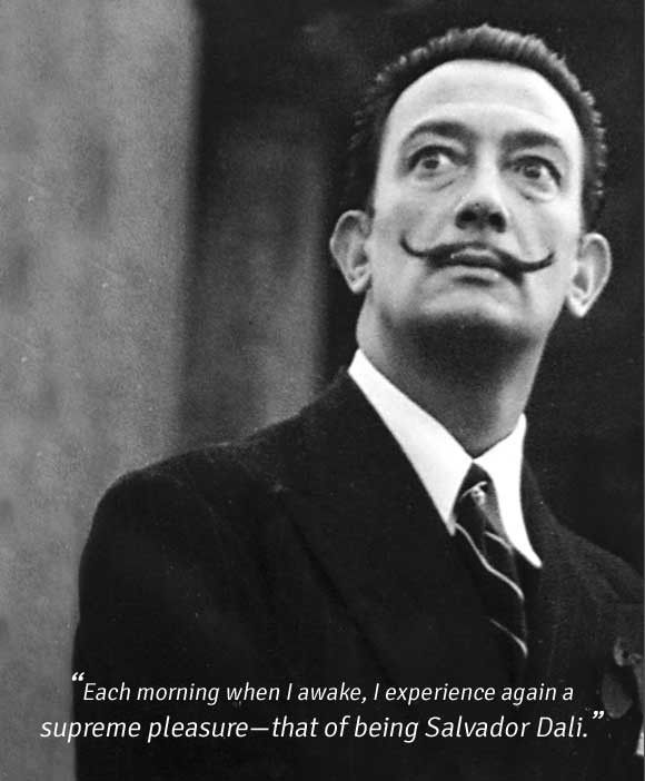 Salvador Dali- Short notes | Know everything in seconds-artandcrafter.com Surrealism