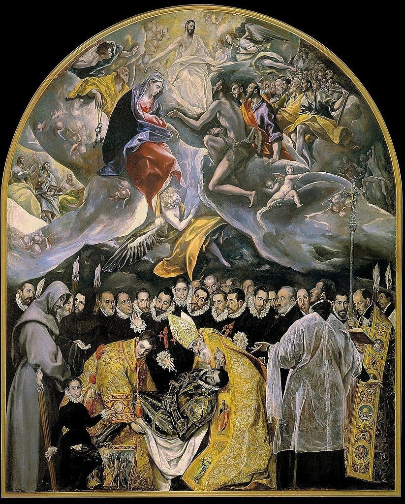 The Burial of the Count of Orgaz