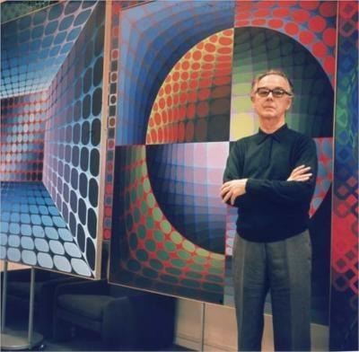 Victor Vasarely- Biography   short notes   Top artworks – artandcrafter.com Op art