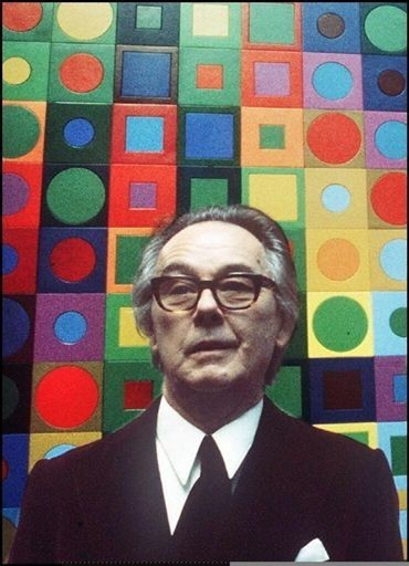 Victor Vasarely- Life, paintings, contribution, death- Easy explanation | artandcrafter.com Op art