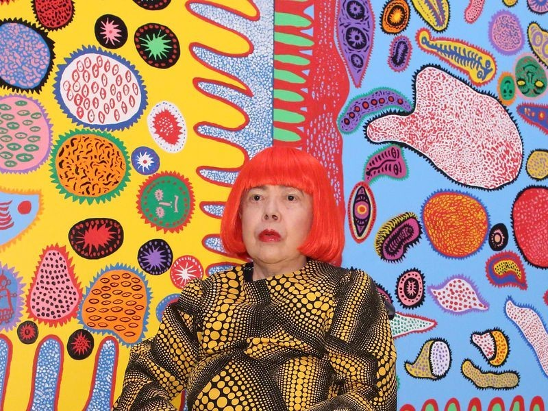 Yayoi Kusama- Life, paintings, contribution, death- Easy explanation | artandcrafter.com Contemporary art