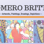 Romero Britto art-Top 25 designs, paintings, photos, prints, and sculptures