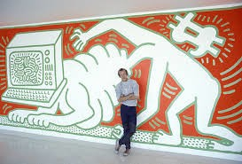 Keith Haring Radiant baby: Funny story of 'Radiant Baby'| High-resolution Paintings|For sale