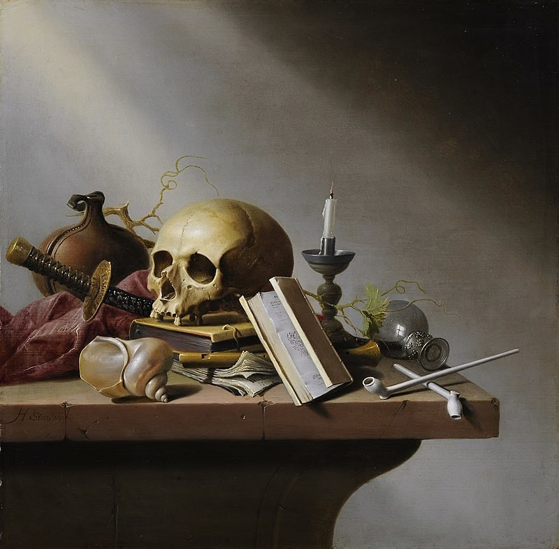 Harmen Steenwijck- Facts, Overview, complete life- At glance | artandcrafter.com Vanitas