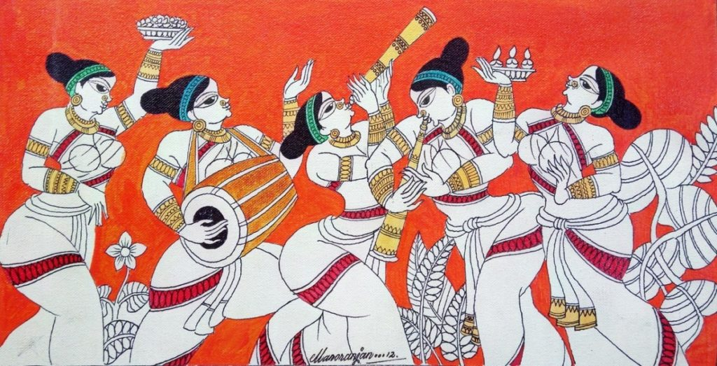 Painting by Dinesh Kumar
