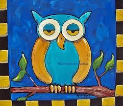 Starry Starry Night Owl
