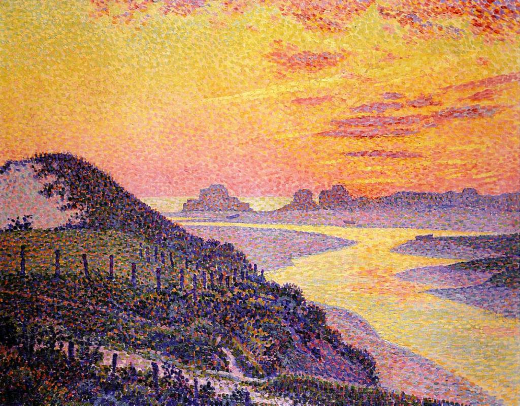 Sunset at Ambletsuse