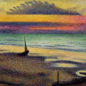 Beach at Heist