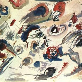 Kandinsky's first abstract watercolor
