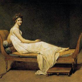 Portrait of Madame Récamier